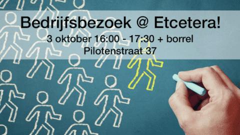 Bedrijfsbezoek & borrel @ Etcetera!