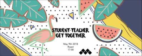 Student-teacher get together