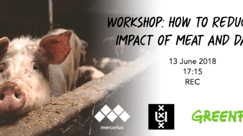 Workshop: Mercurius x Greenpeace: How to reduce the impact of meat and dairy?