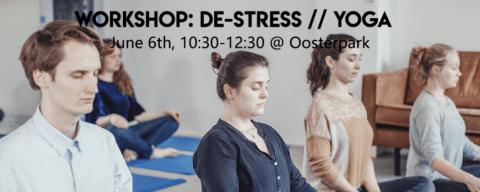 Workshop: DE-STRESS // YOGA