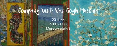 Bedrijfsbezoek: Van Gogh Museum